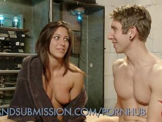 Spreading Her Juicy Pussy Wide Open
