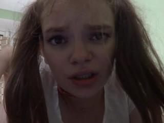Cute teen loves anal POV