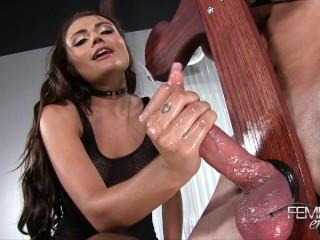 Adria Rae Femdom Bondage Orgasm Milking