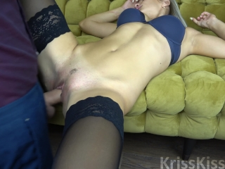 Blonde Suck Huge Cock and Ride him